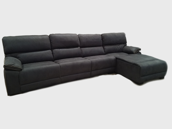 """""""WESTERN"""" 3 SEATER CHAISE SOFA LOUNGE"""